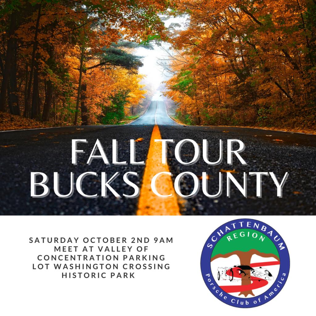 Fall Tour Bucks County @ Valley of Concentration Parking Lot Washington Crossing Historic Park | Washington Crossing | Pennsylvania | United States
