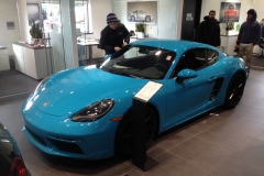 718 Cayman in Miami blue